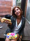 Allison Scagliotti - Twitter Picture From Some Sort of Cookout - April 29, 2012 (x1)