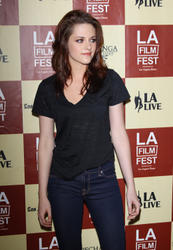Кристен Стюарт, фото 193. Kristen Stewart arrives at 'A Better Life' World Premiere Gala Screening during the 2011 Los Angeles Film Festival at Regal Cinemas L.A. LIVE on June 21, 2011 in Los Angeles, California., photo 193