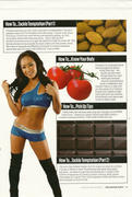 Gail Kim-WWE Magazine November 2010