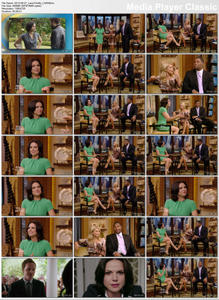 Lana Parilla on Live with Kelly and Michael and GMA 9/27/12